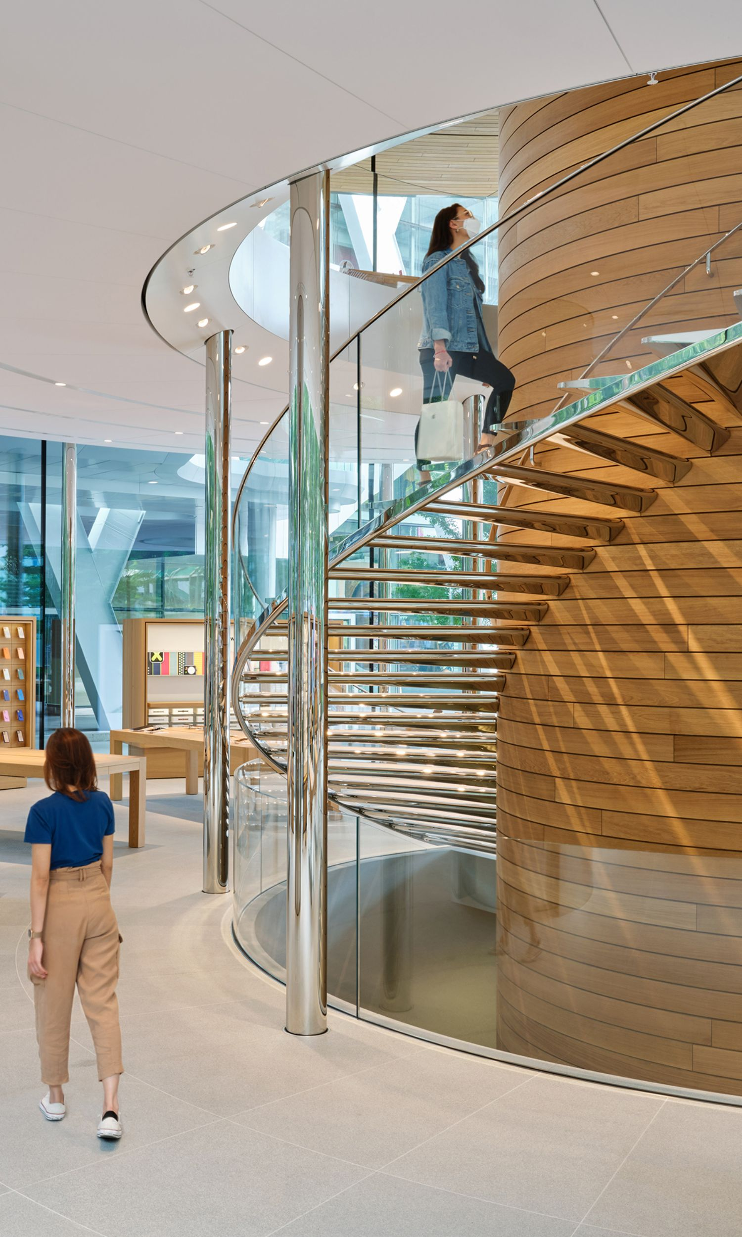 Treppe Apple Store Bangkok