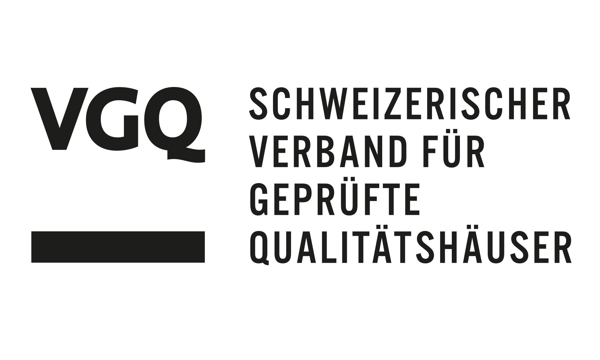 Illustration of the VGQ Lab from the Swiss Association for Certified Quality Houses